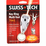 Swiss Tech 7 in 1 Key Ring Pocket Multi-Tools