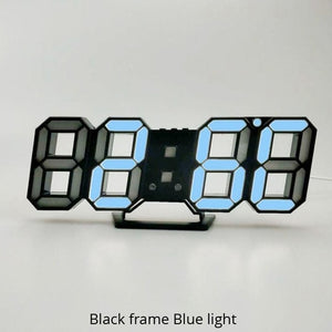 Colored LED Wall Clock
