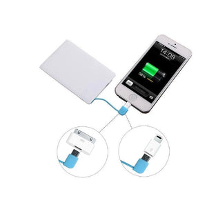 Portable Wallet Phone Charger