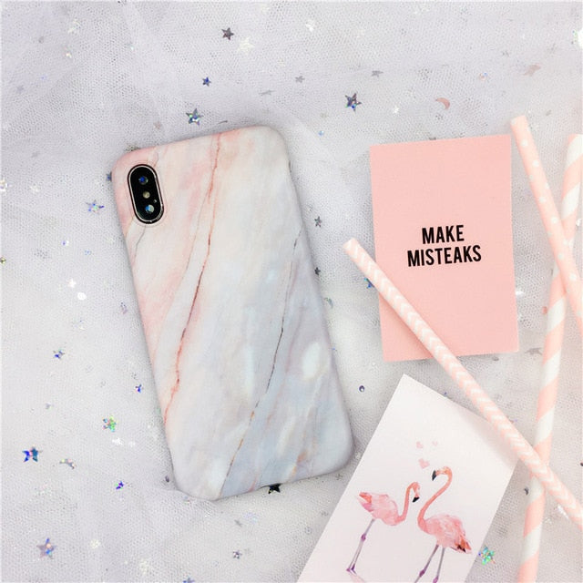 Premium Marbled Design IPhone Case