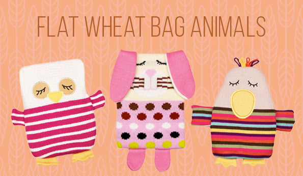 Flat Wheat Bag Animals