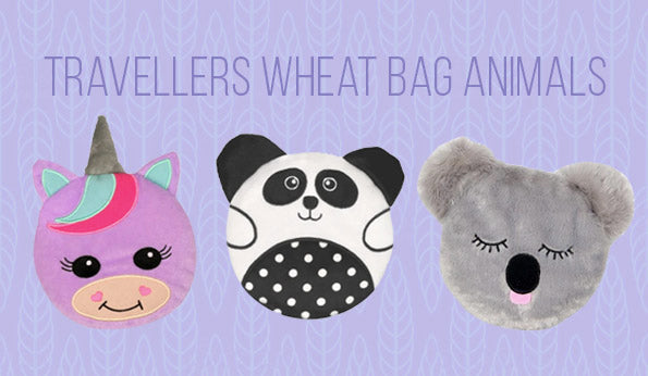 Travellers Wheat Bag Animals