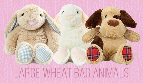 Large Wheat Bag Animals