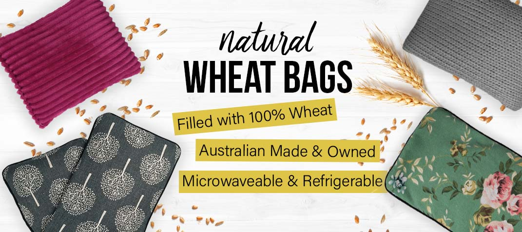 Natural Microwaveable Wheat Heat Bags