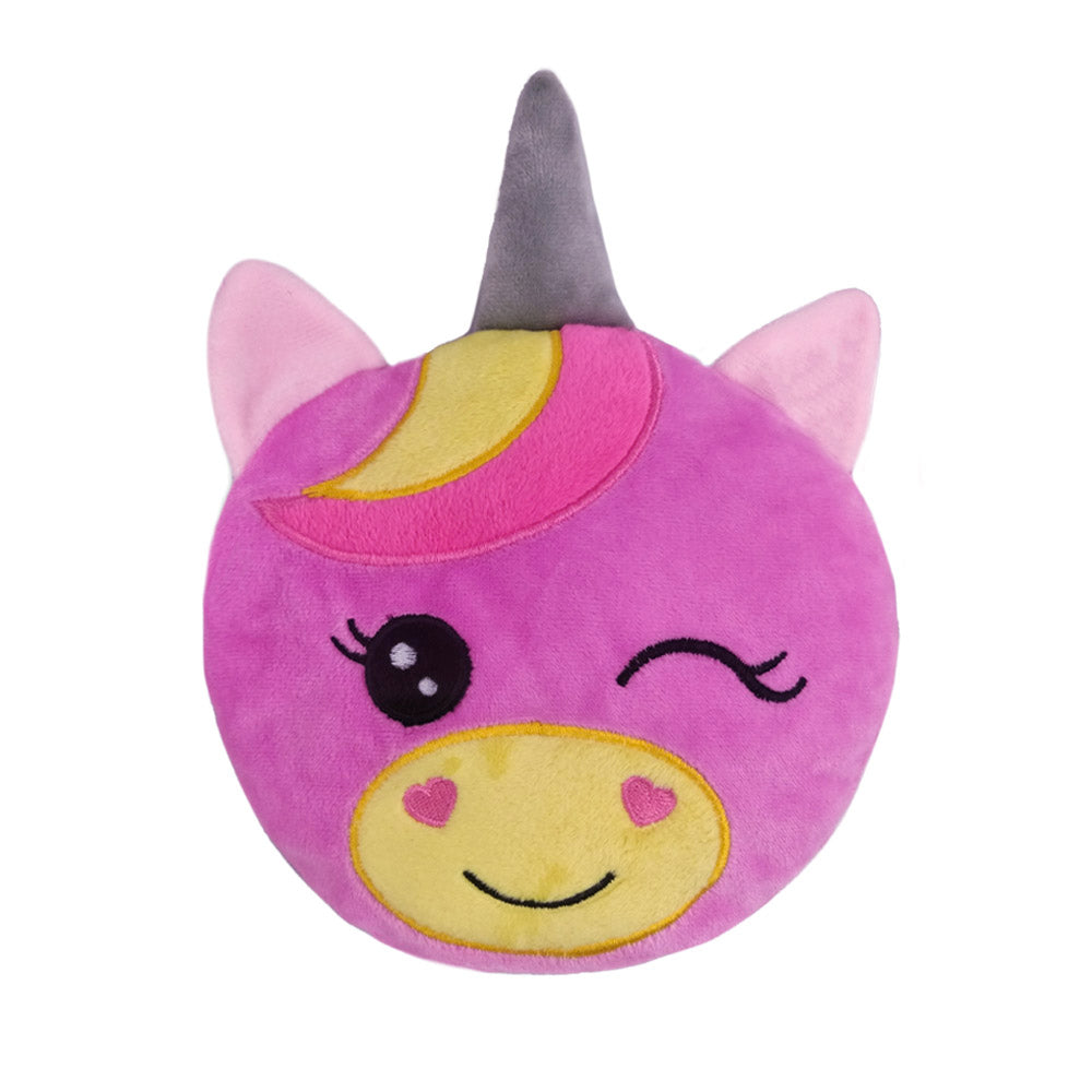 Small Wheat Heat Bag Animal Head - Twinkle The Unicorn - The Grain Shop Online Store