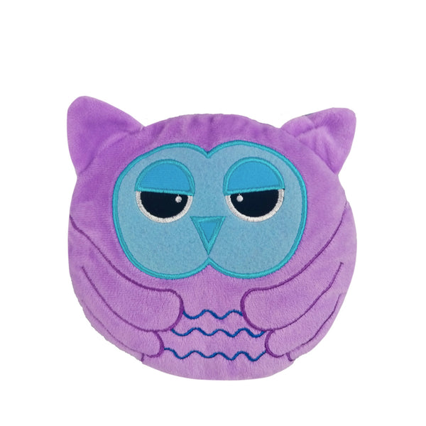 Small Wheat Heat Bag Animal Head - Daydream The Owl - The Grain Shop Online Store