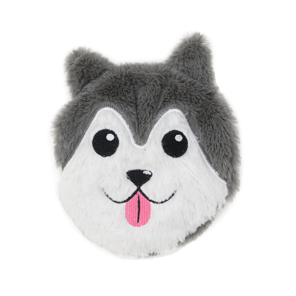 Small Wheat Heat Bag Animal Head - Bosco The Husky - The Grain Shop Online Store