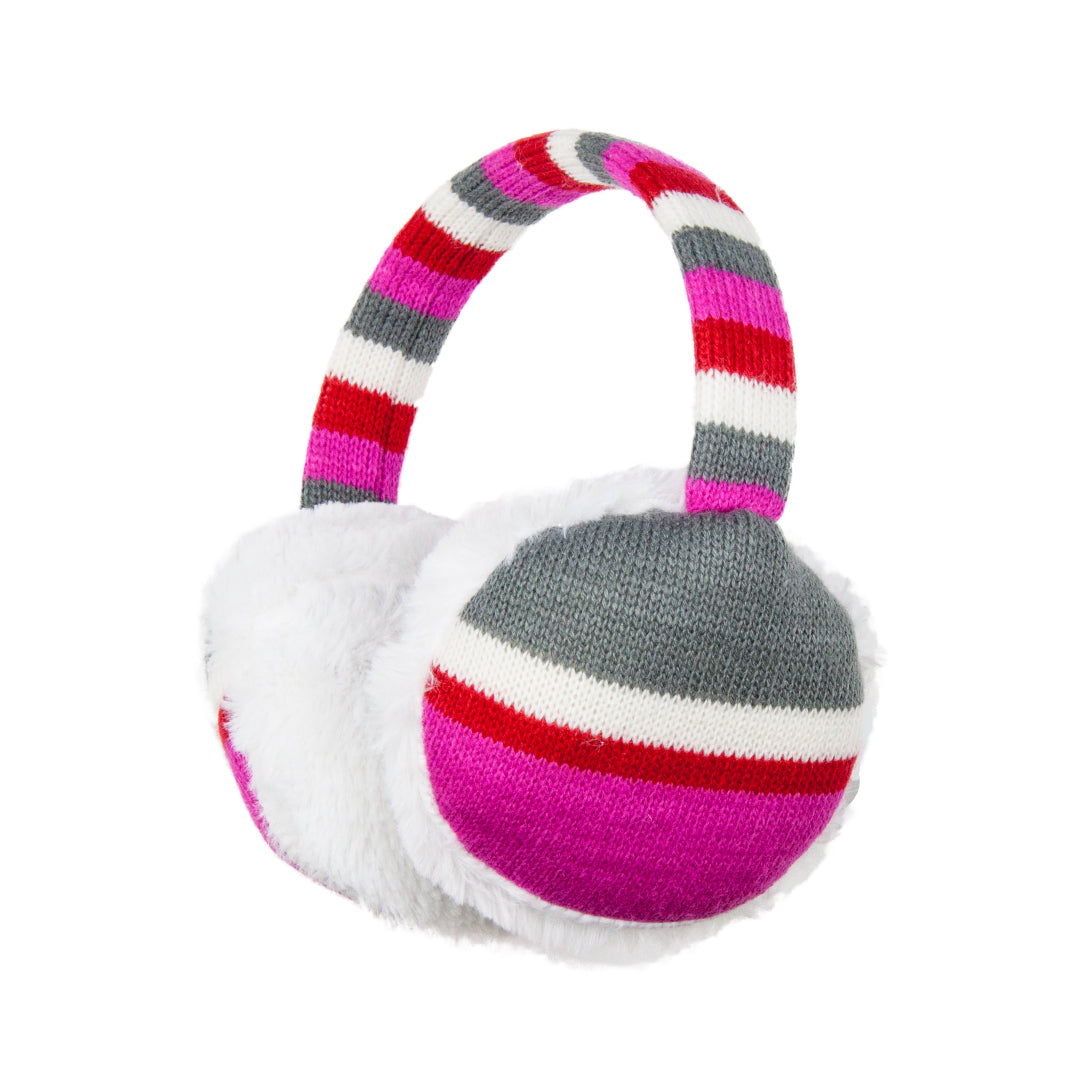 Heat Up Ear Muffs - Pink Stripe - The Grain Shop Online Store