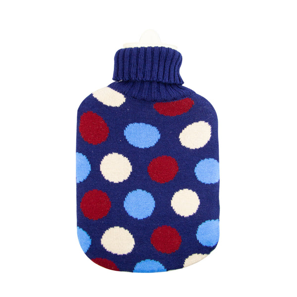Hot Water Bottle & Cover - Dots Knit - The Grain Shop Online Store