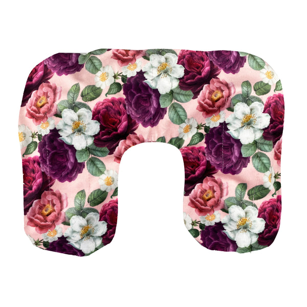 Wheat Heat Neck Pillow - Peony Print