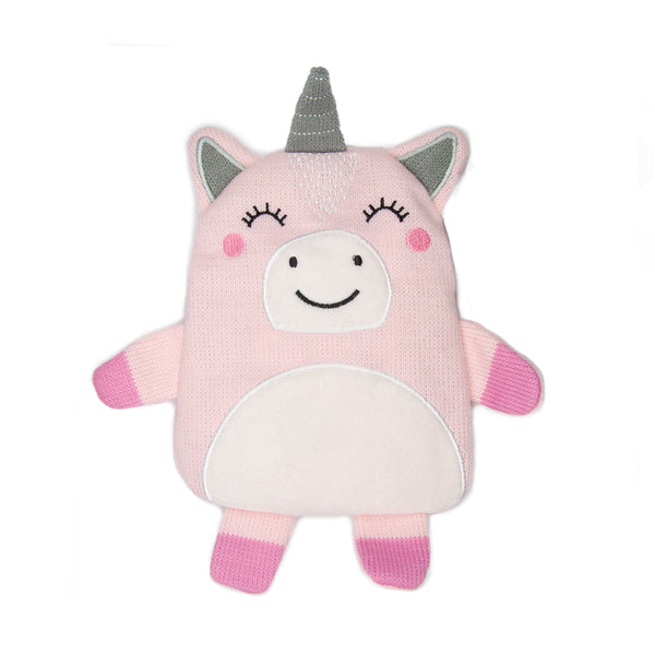 Small Wheat Bag Flat Animal - Keara The Unicorn - The Grain Shop Online Store