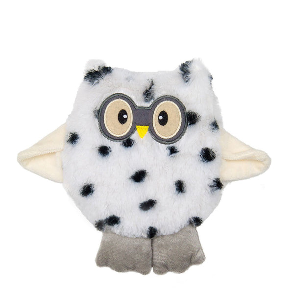 Small Wheat Bag Round Animal - Dotty The Owl - The Grain Shop Online Store