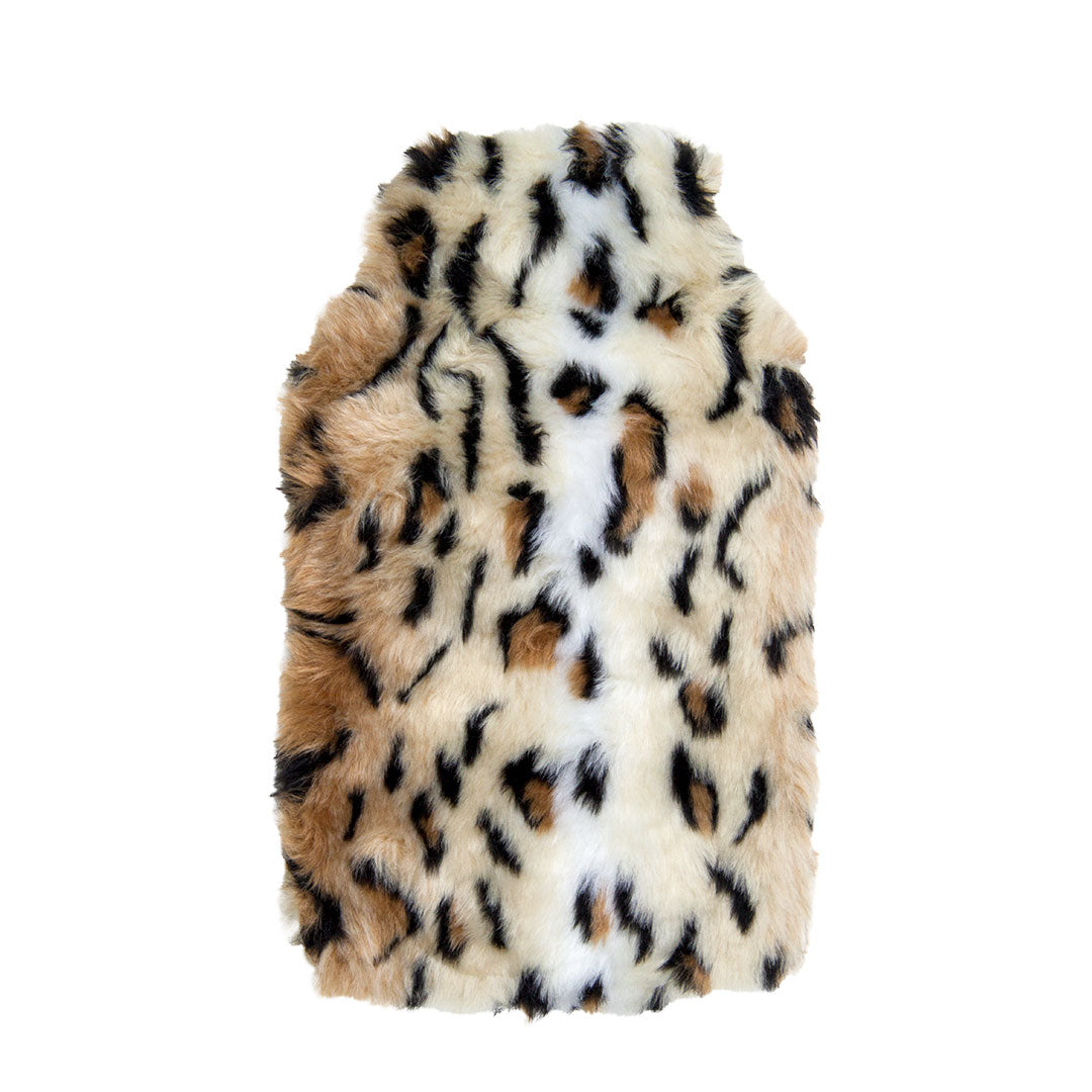Hot Water Bottle & Cover - Cheetah Fur - The Grain Shop Online Store