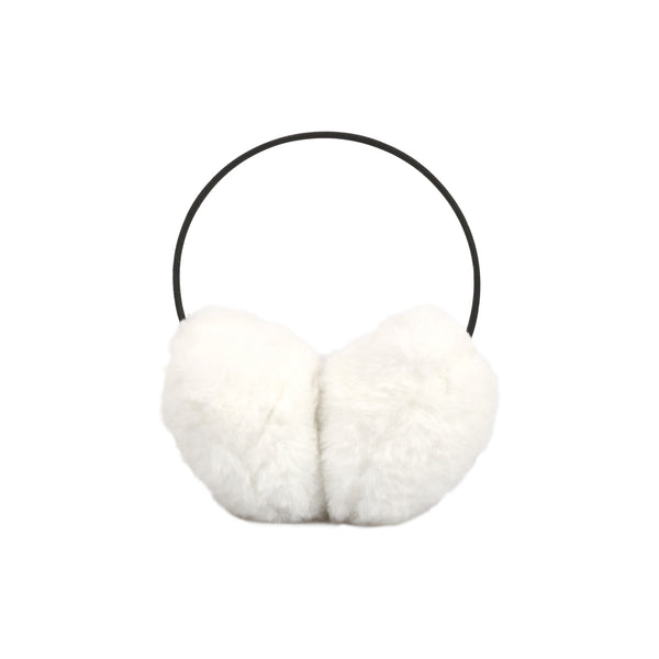 Ear Muffs - White Fluffy - The Grain Shop Online Store