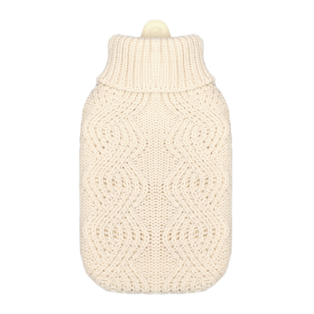 Hot Water Bottle & Cover - Cream Cable Knit - The Grain Shop Online Store