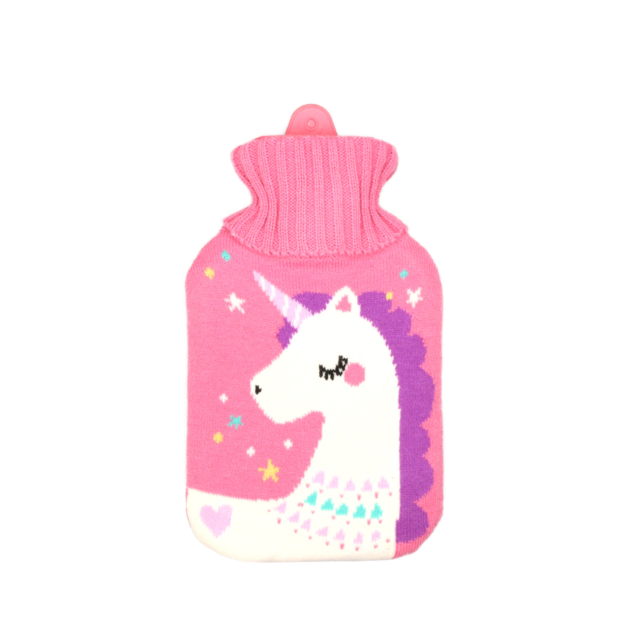 Hot Water Bottle & Cover 1 Litre - Unicorn - The Grain Shop Online Store