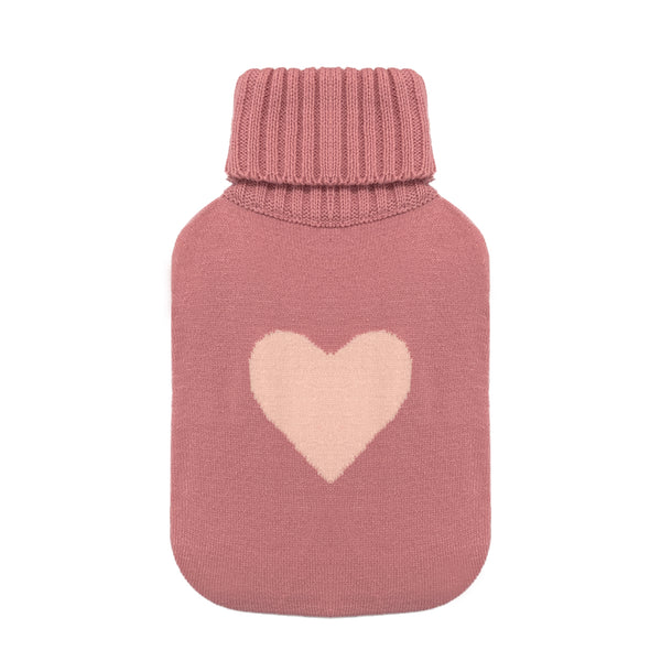 Hot Water Bottle Cover - Warm Heart - The Grain Shop Online Store