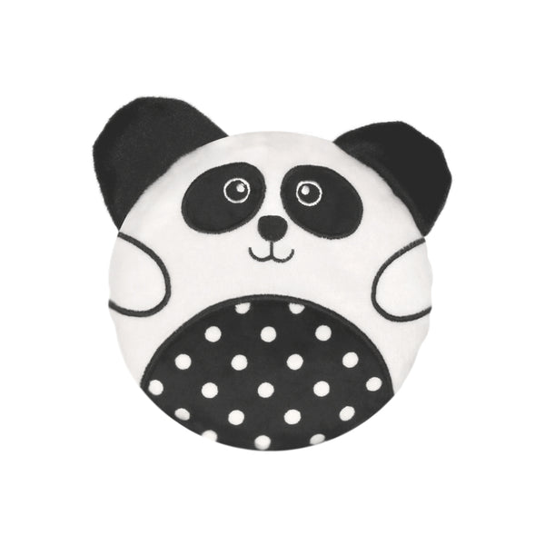 Small Wheat Bag Round Animal - Luna The Panda - The Grain Shop Online Store