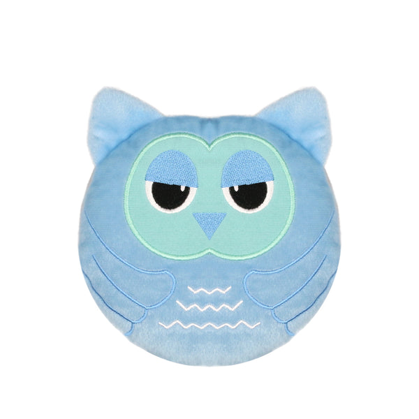 Small Wheat Heat Bag Round Animal - Indi The Owl - The Grain Shop Online Store