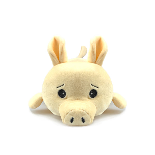 Small Chubby Wheat Bag Animal - Marshmallow The Pig - The Grain Shop Online Store