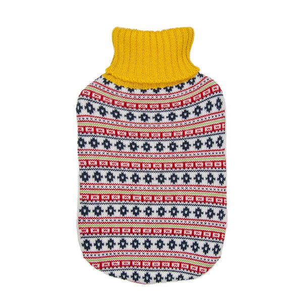 Hot Water Bottle Cover - Coloured Geometric - The Grain Shop Online Store