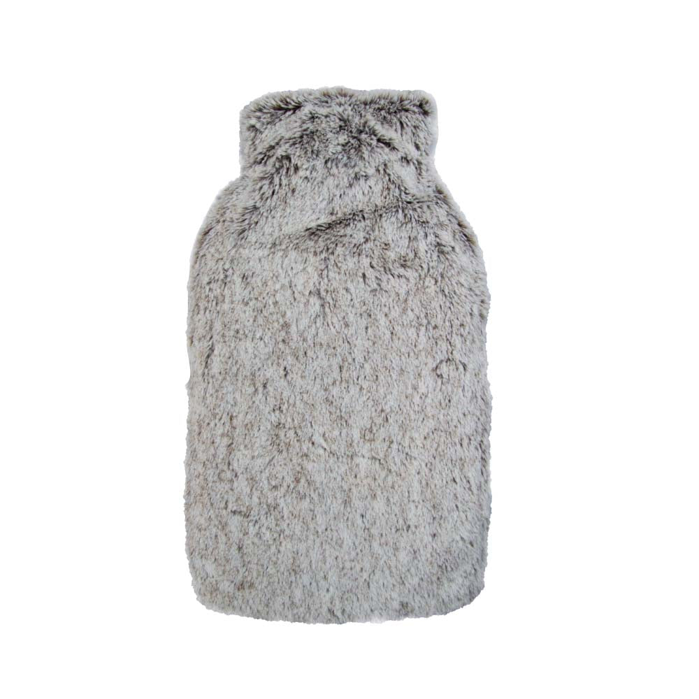 Hot Water Bottle & Cover - Contrast Fleece - The Grain Shop Online Store