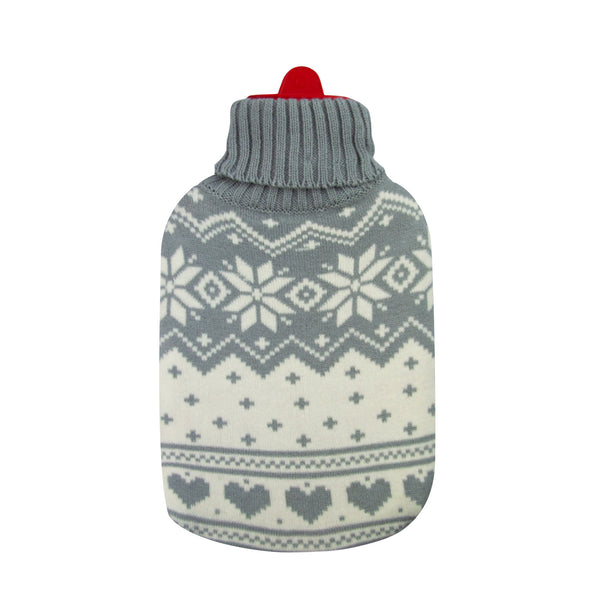 Hot Water Bottle & Cover - Cream Arctic - The Grain Shop Online Store