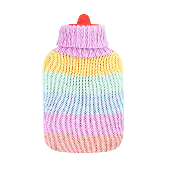Hot Water Bottle & Cover - Rainbow Thick - The Grain Shop Online Store