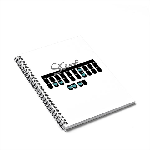 Steno Queen - Spiral Notebook