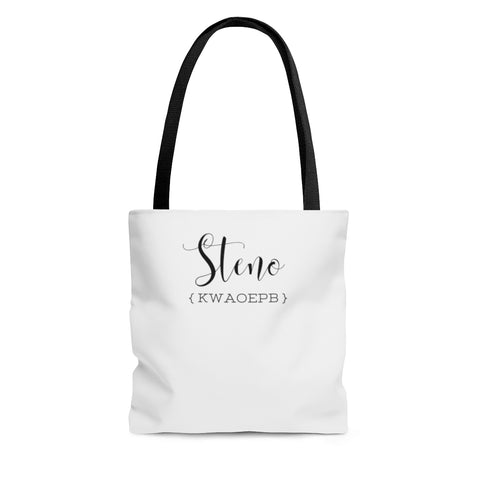 Steno Queen - AOP Tote Bag