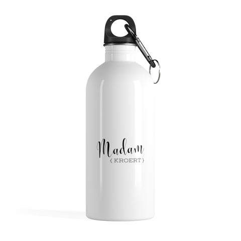Madam Court Reporter - Stainless Steel Water Bottle