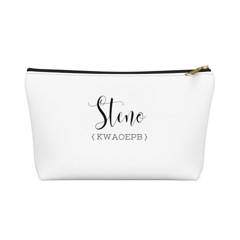 Steno Queen - Accessory Pouch w T-bottom