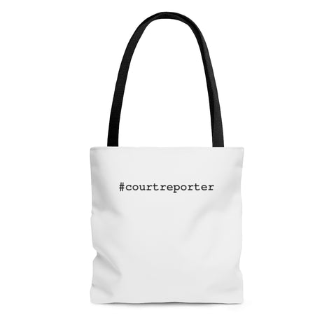 #courtreporter - Tote Bag