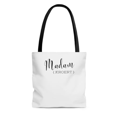 Madam Court Reporter - AOP Tote Bag
