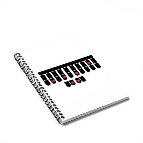 Court Reporter Spiral Notebook