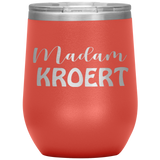 Madam Court Reporter Wine Cup