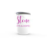 Steno Queen - Stemless Wine Tumblers