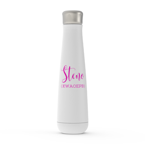 Peristyle Water Bottles - Steno Queen