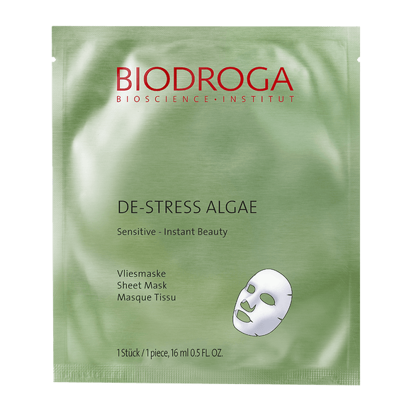 De-Stress Algae Sensitive Sheet Mask