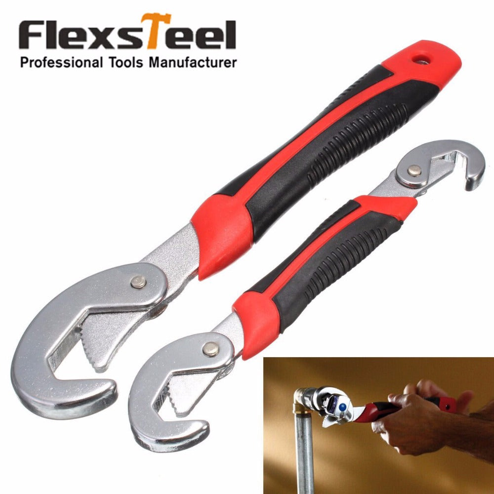 Flexsteel 2PC Multi-Function Universal Wrench Set