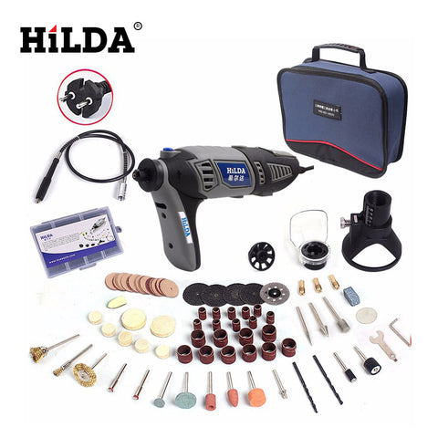 HILDA  220V 180W  Dremel style Electric Rotary Power Tool