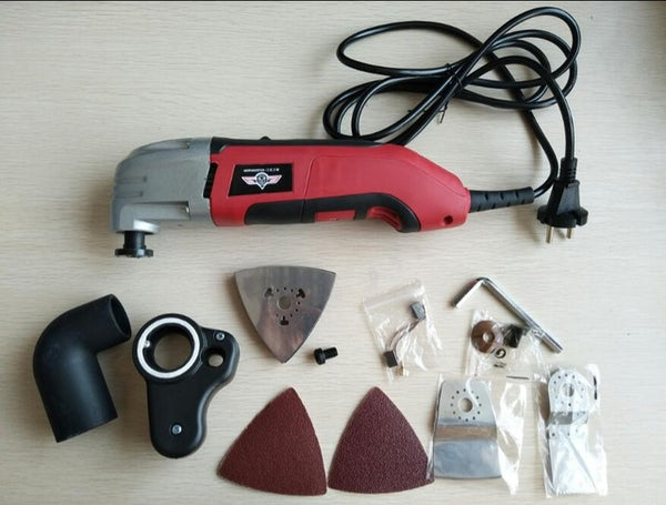 Multifunction Electric Trimmer ,350w Multi Master Oscillating Tool ,wood working set .