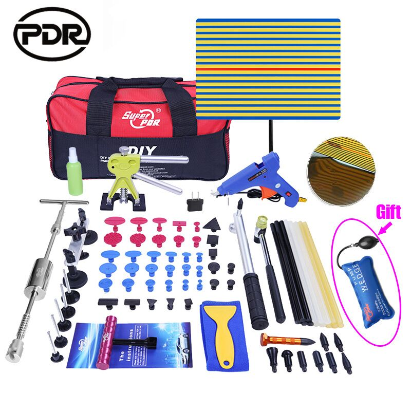 PDR Tools Kit Dent Removal Paintless Dent Repair Tools