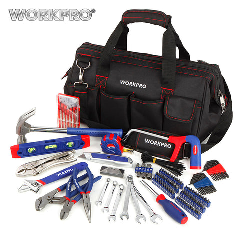 WORKPRO 156PC Home Tool Set Plumbing