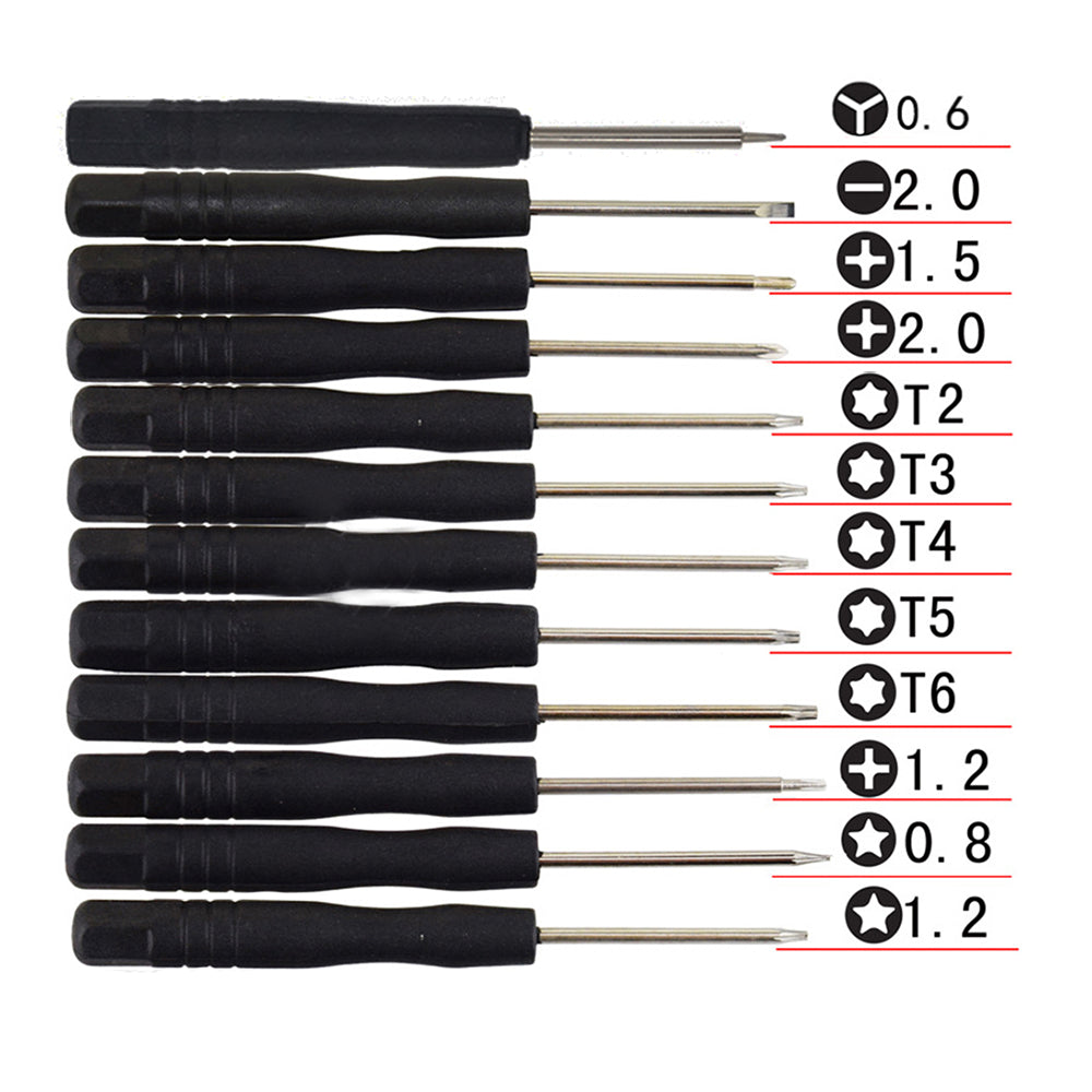 12 In 1 Mini Multi-Function Magnetic Precision Screwdriver Set for Apple iPhone 7