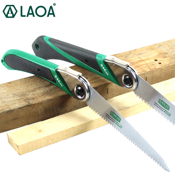 LAOA 170mm/210mm Folding Saw SK5 Garden Pruning Hand Saw Portable Outdoor Shear Tools Sharp Saw