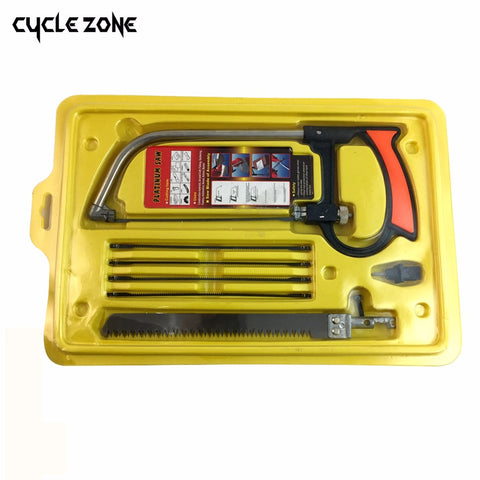 8 in 1 Magic Saw Multi Purpose Hand Steel Saw Kit 6 Blades