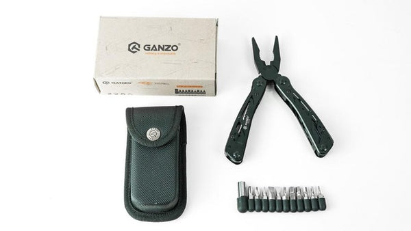 Original GANZO Multi Tool Knife pliers 22in1 pliers