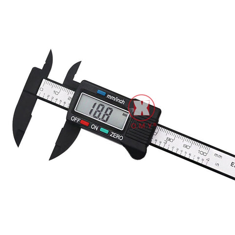 "150mm 6"" LCD Digital Electronic Carbon Fiber Micrometer"