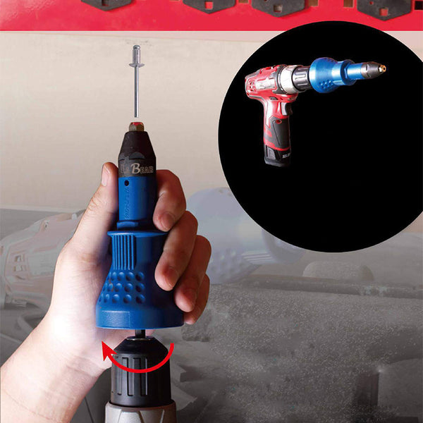 Electric Rivet Nut Gun Riveting Tool Cordless